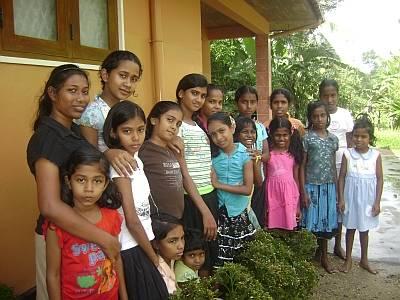 Sri Lanka schlechte Mädchen